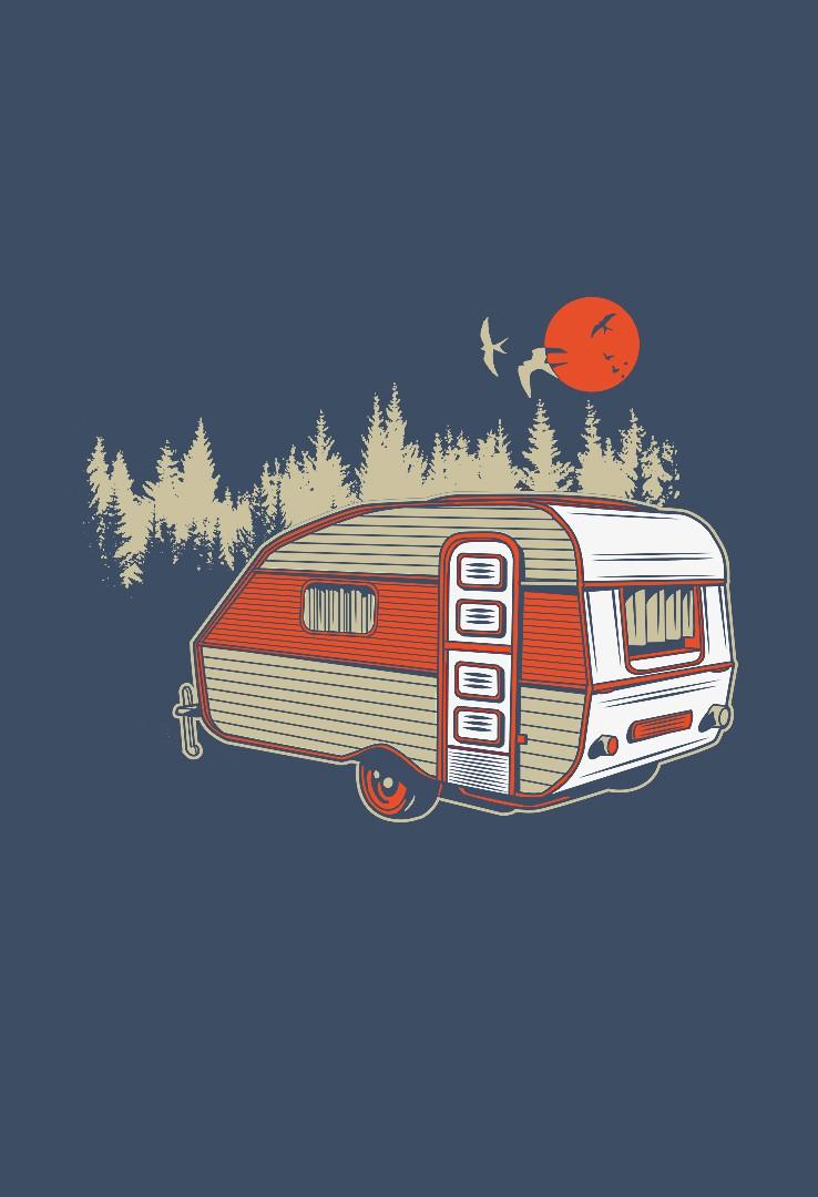 DDR Camper T-Shirt  – Bild 2