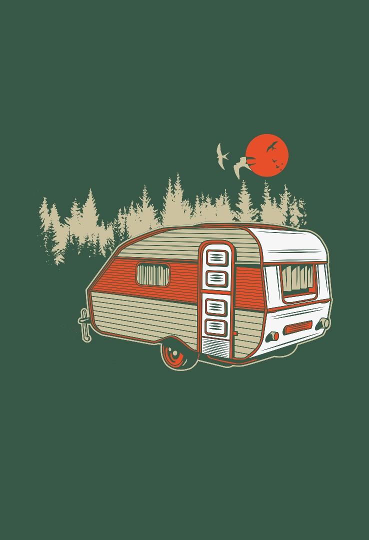 DDR Camper T-Shirt  – Bild 4