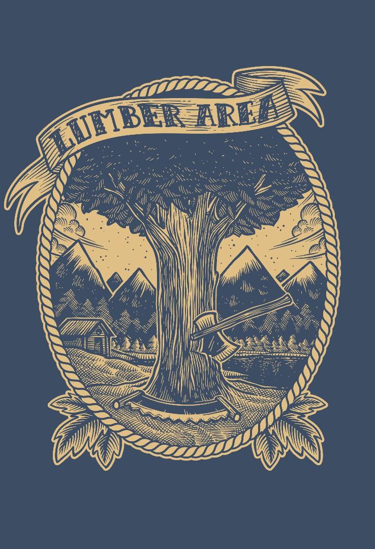 T-Shirt Lumber Area  – Bild 4