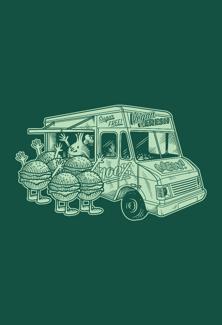 T-Shirt Food Truck – Bild 1