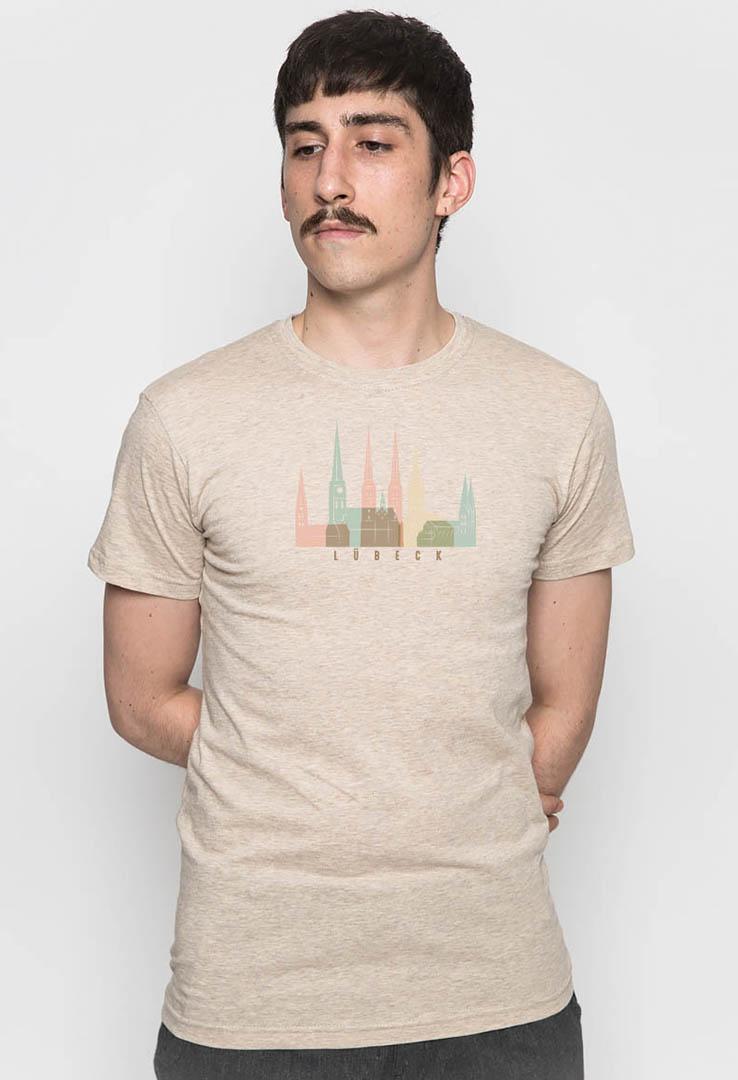 T-Shirt Lübeck Pastell – Bild 2