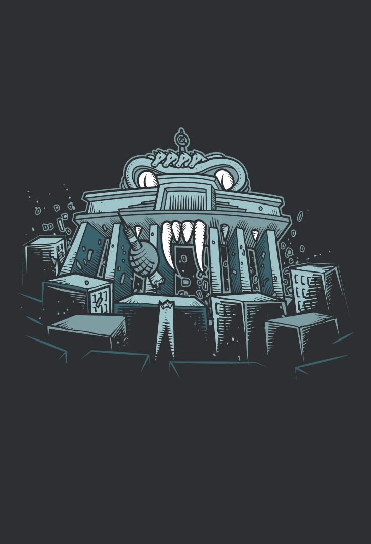 T-Shirt Brandenburger Tor – Bild 4