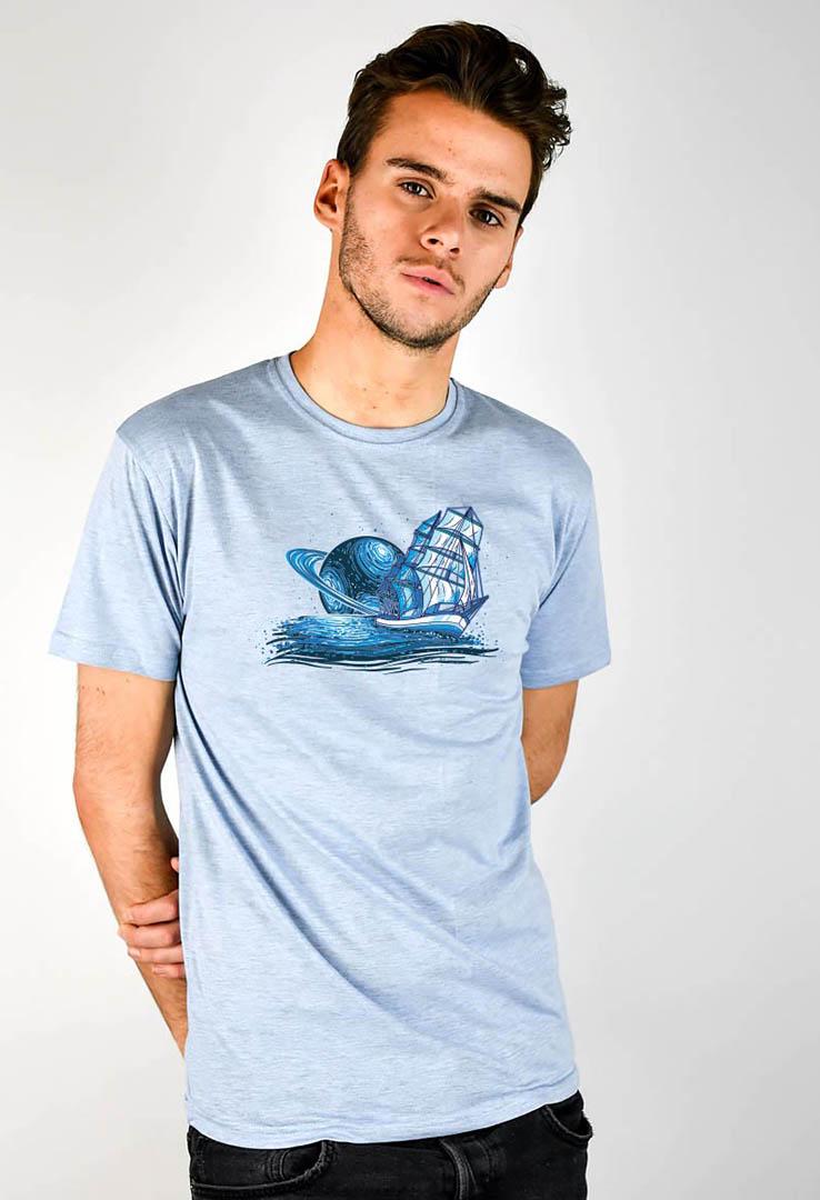 T-Shirt Saturn Segler – Bild 3