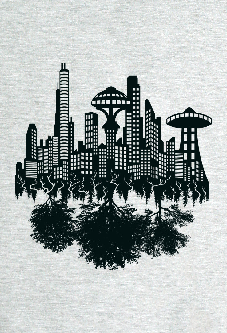T-Shirt Future City