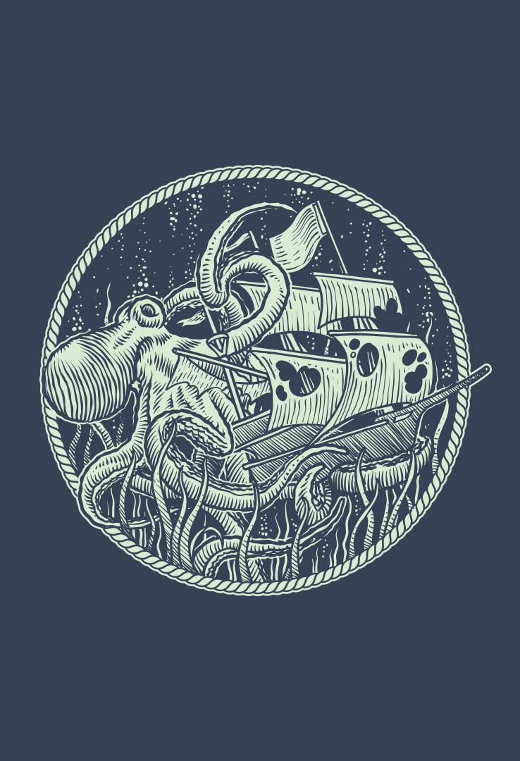 Turnbeutel mit Print  – Bild 2