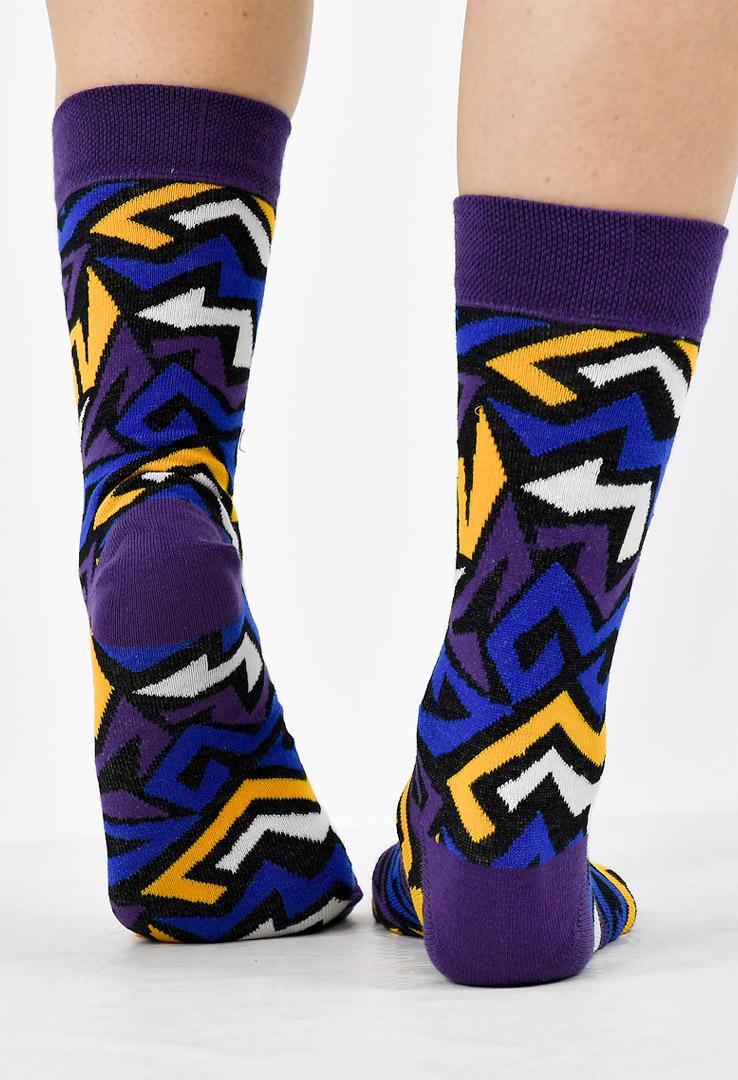 bunte Unisex-Socken – Bild 3