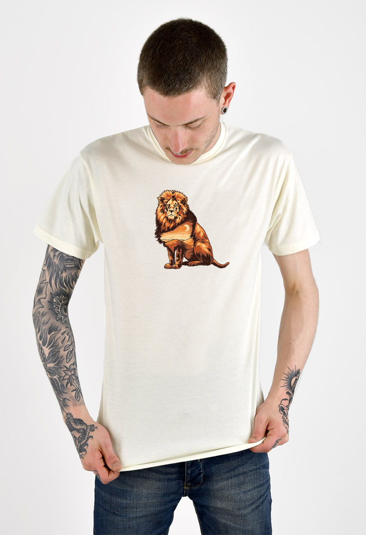 T-Shirt Nature Lion – Bild 2