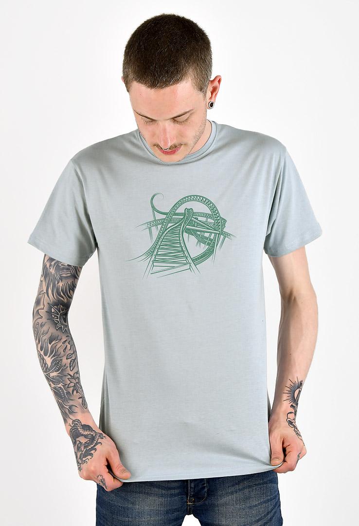 T-Shirt Achterbahn – Bild 2