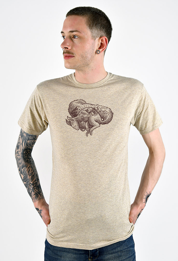 T-Shirt Squirrel Fossil