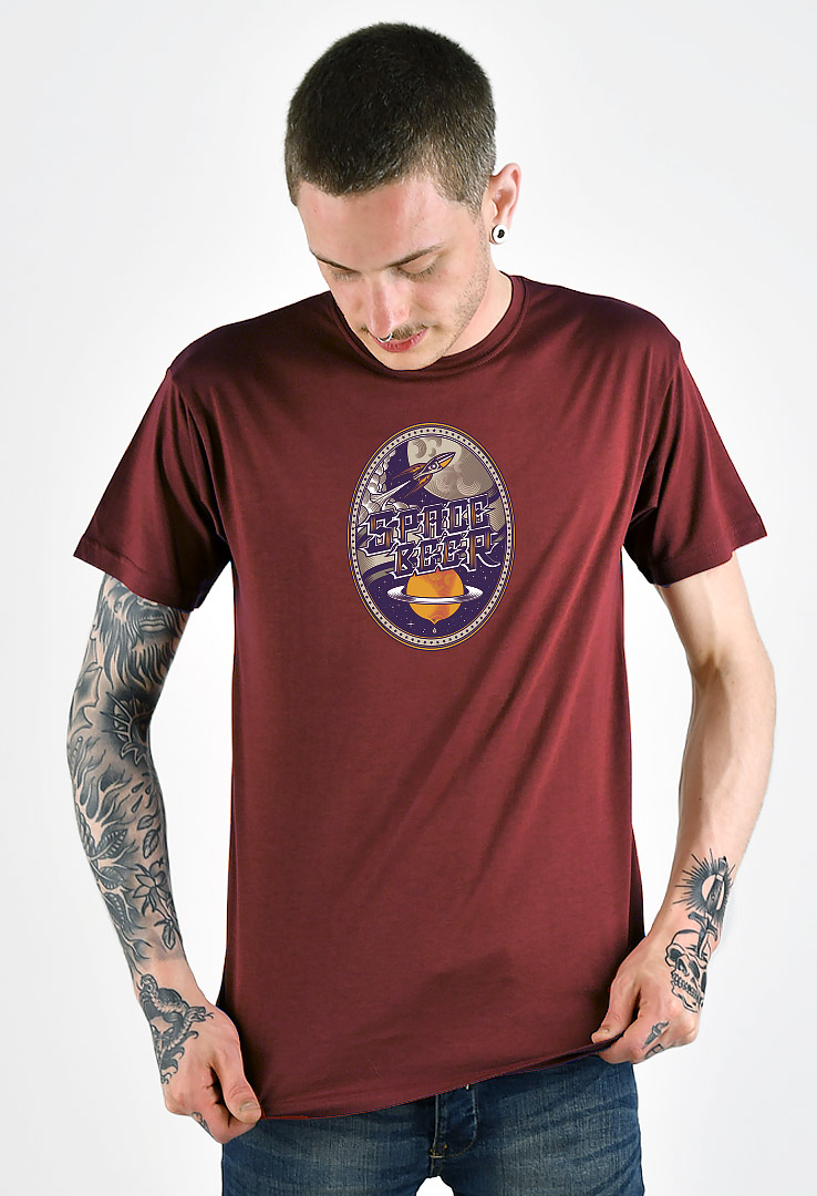 T-Shirt Space Beer – Bild 1