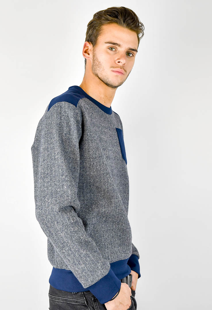 Sweater Navy – Bild 2