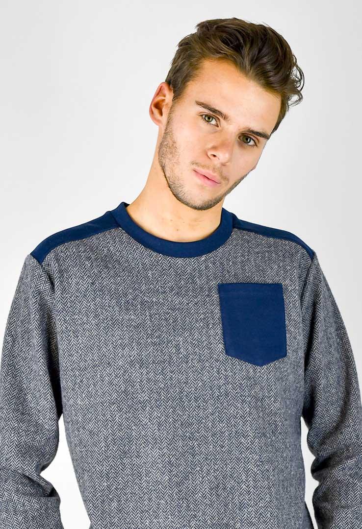 Sweater Navy – Bild 4