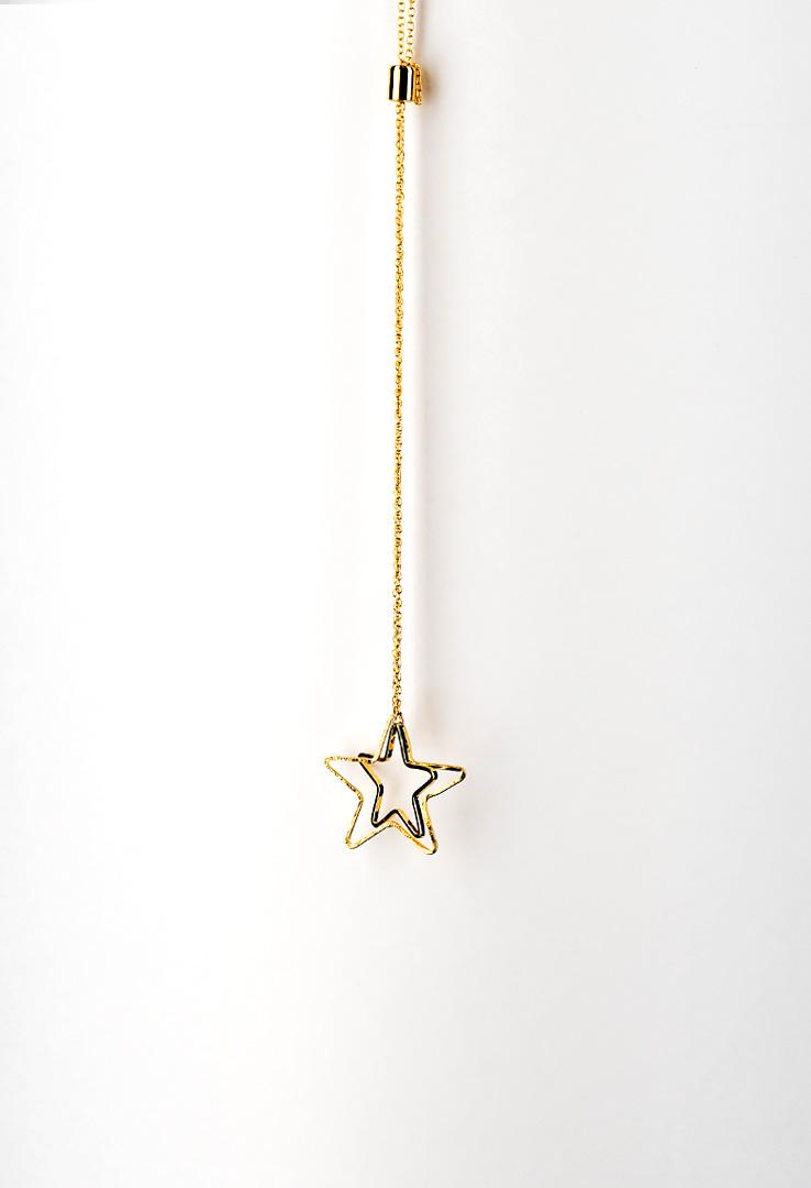 Kette mit Stern in Gold – Bild 2
