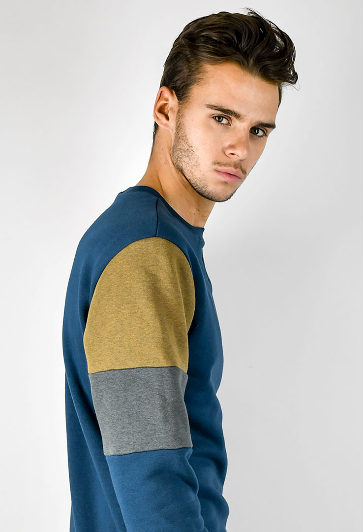 Sweatshirt Deep teal – Bild 4