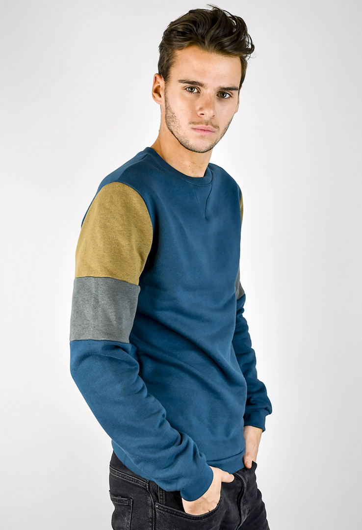 Sweatshirt Deep teal – Bild 2