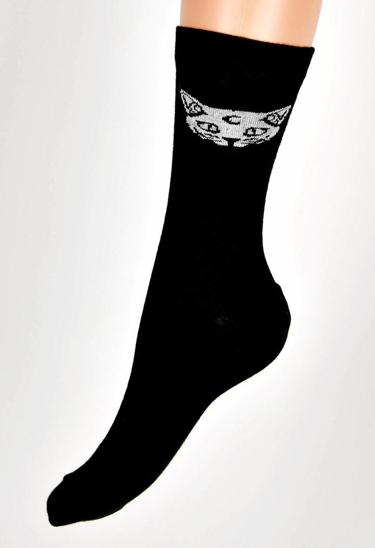 Catbaby Socken in schwarz – Bild 1