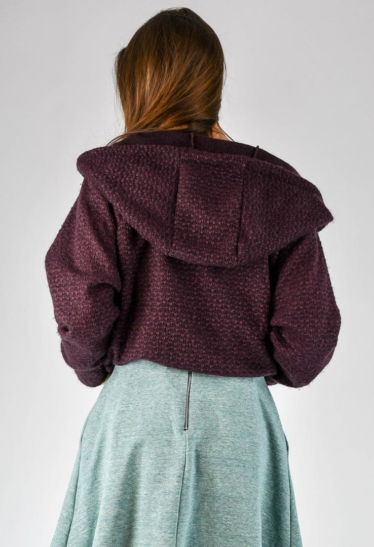 Sweatshirt Wine Red – Bild 4