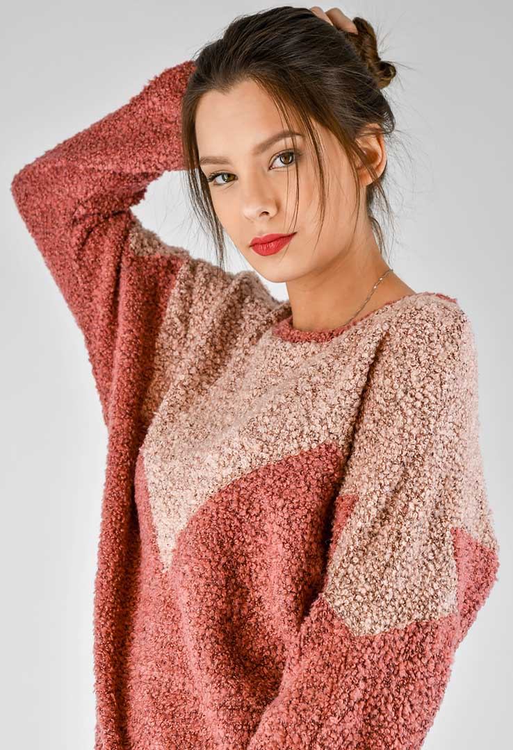 Sweatshirt Rose – Bild 5