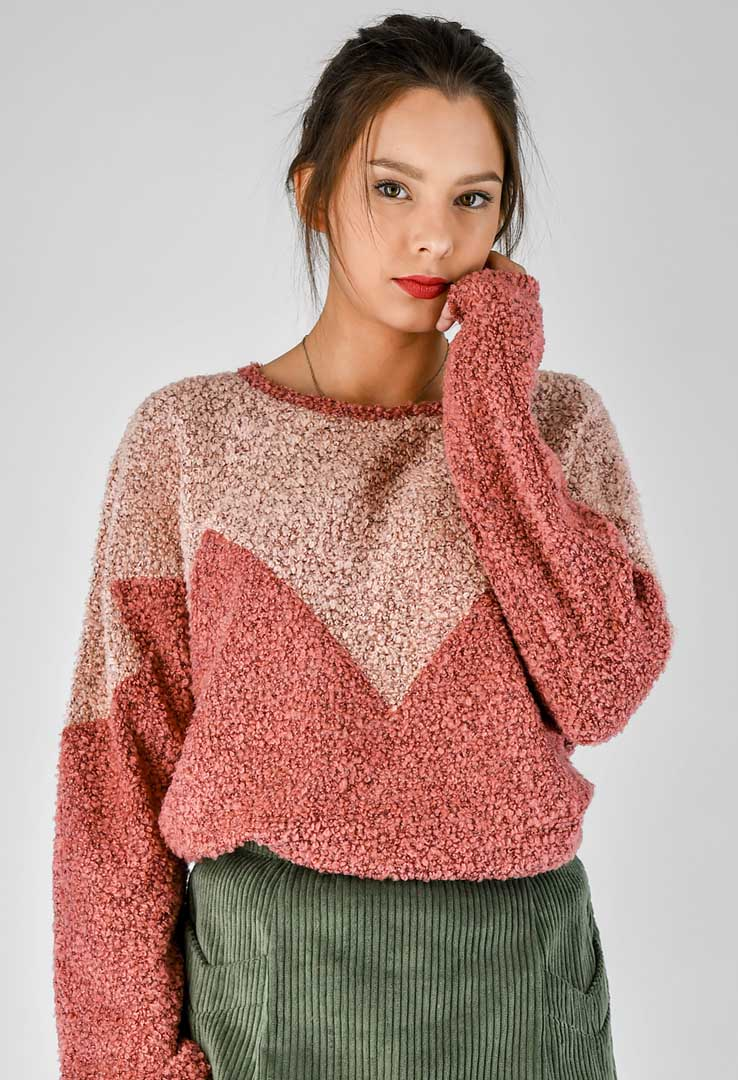 Sweatshirt Rose – Bild 2