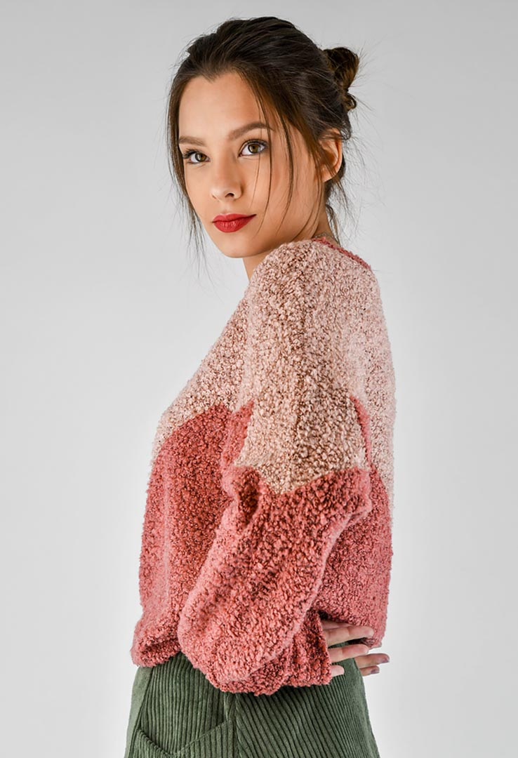 Sweatshirt Rose – Bild 3