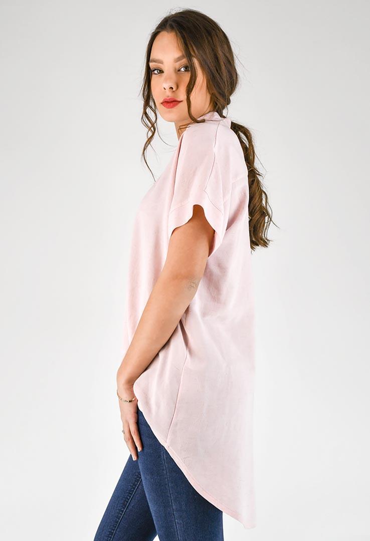 rosa Bluse – Bild 2