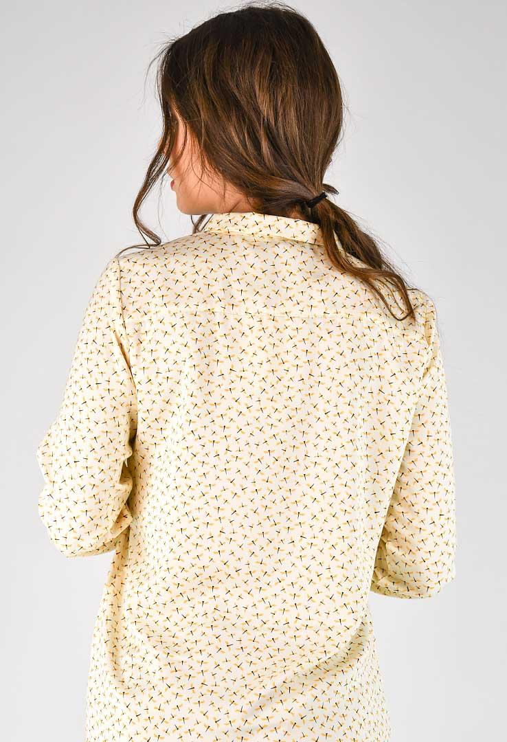 Bluse  mit Libellenprint – Bild 5