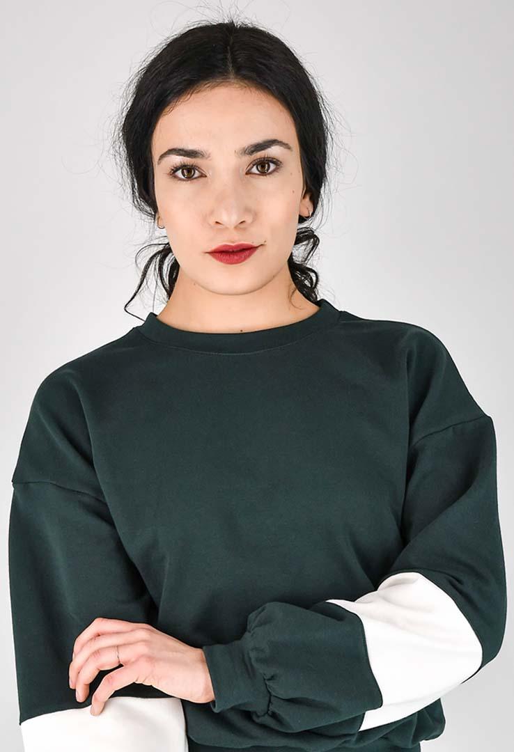 kurzes Sweatshirt – Bild 5
