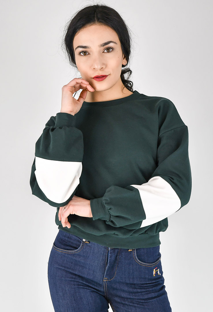 kurzes Sweatshirt – Bild 1