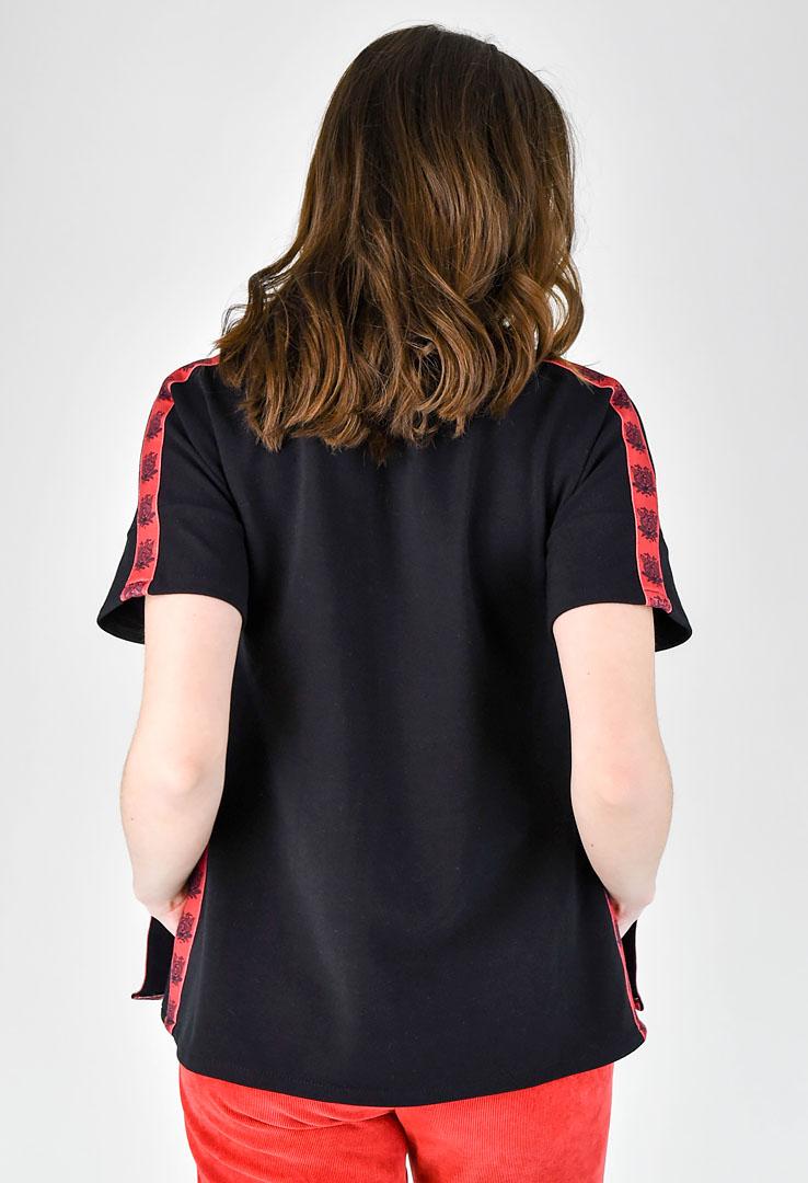 Shirt mit Seitenstreifen  – Bild 4