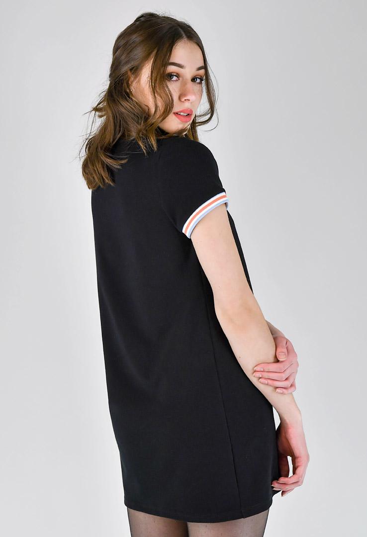 kurzes Shirtkleid mit Print – Bild 3