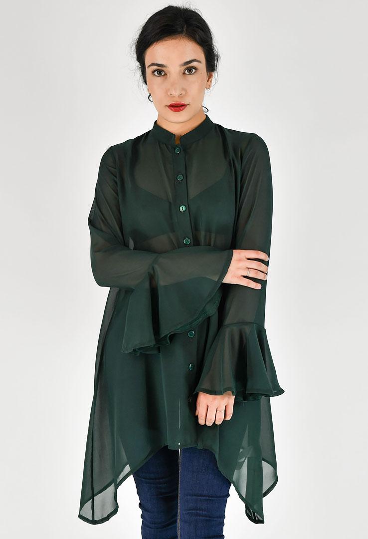 Kleid Bottle Green – Bild 1