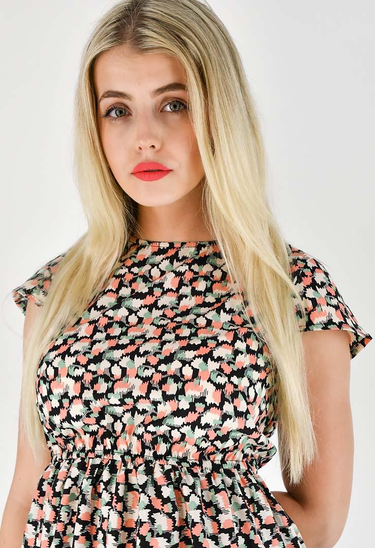 Kleid Print – Bild 4