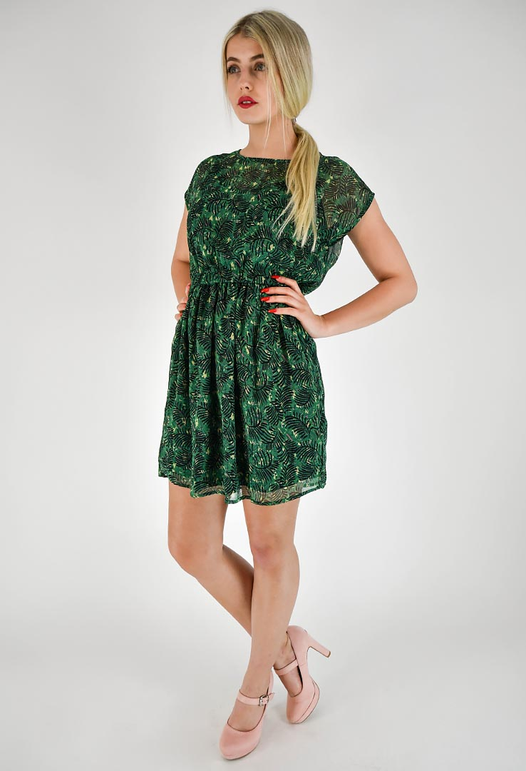 Kleid Grass Green – Bild 2