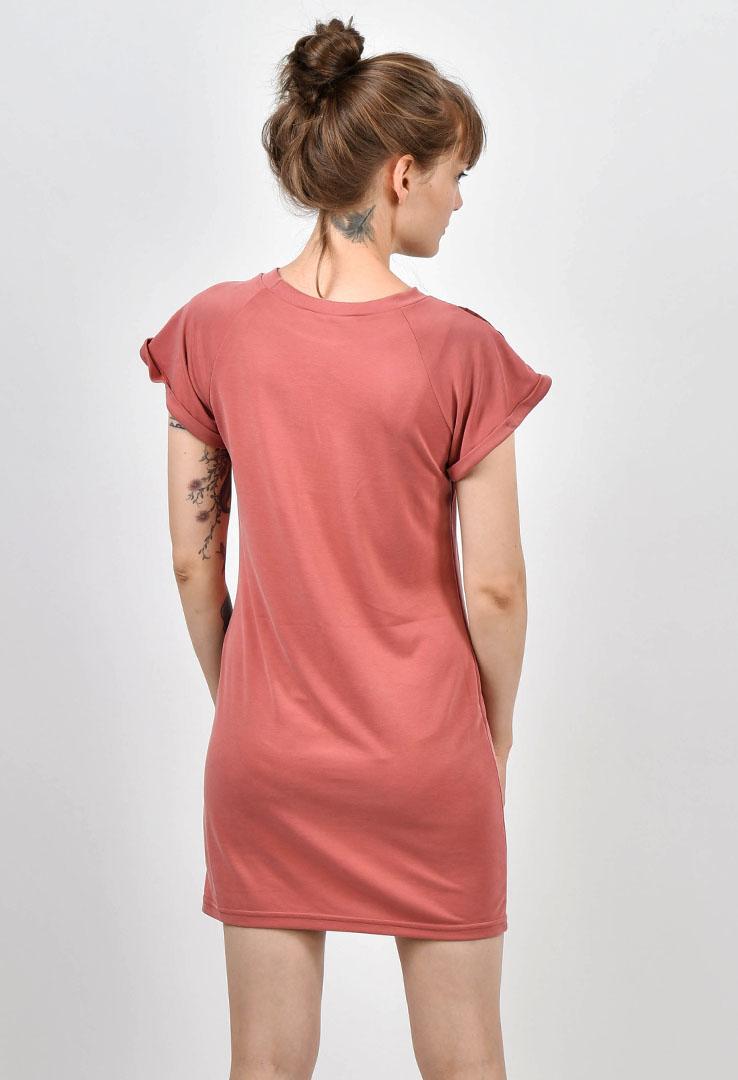 T-Shirt-Kleid Altrosa – Bild 3