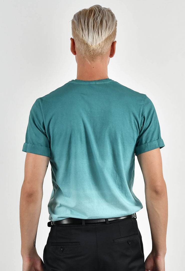 T-Shirt Green Blue Slate – Bild 3