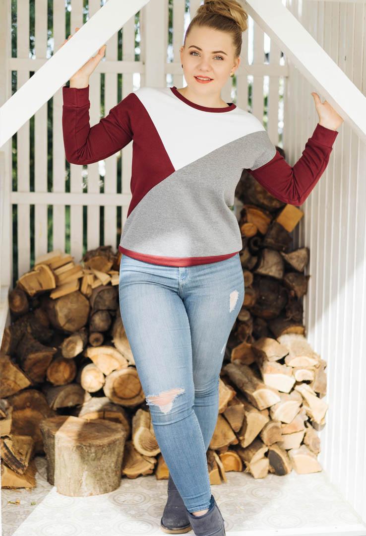 Dominokati sportliches Sweatshirt – Bild 3