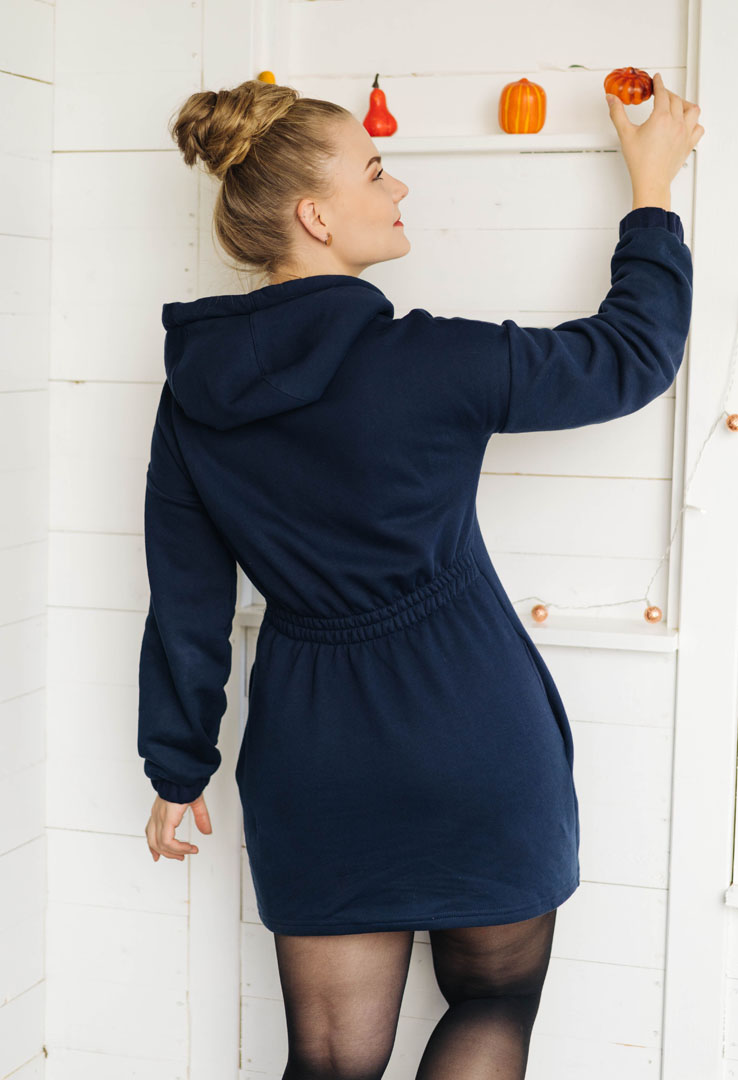 Dominokati Sweatshirt-Kleid – Bild 3