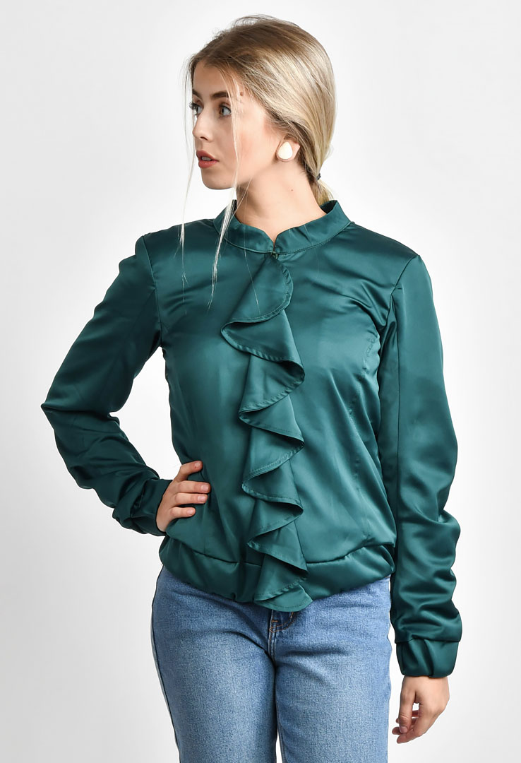 Jacke Bottle Green – Bild 1