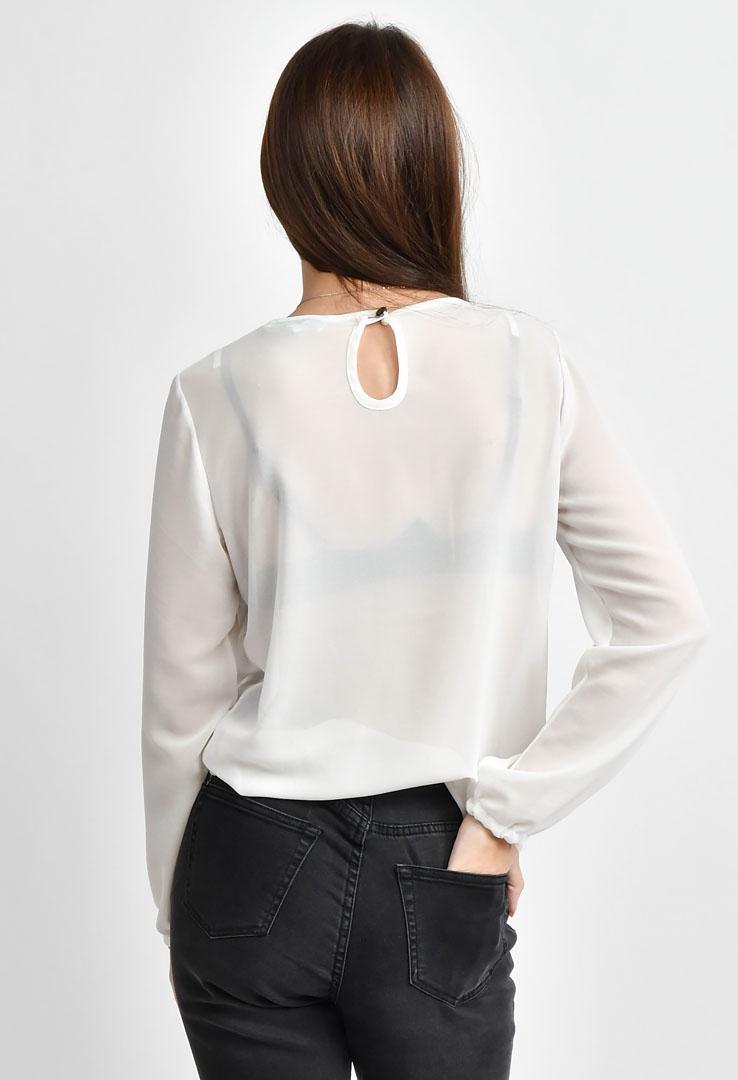 weiße Bluse – Bild 4