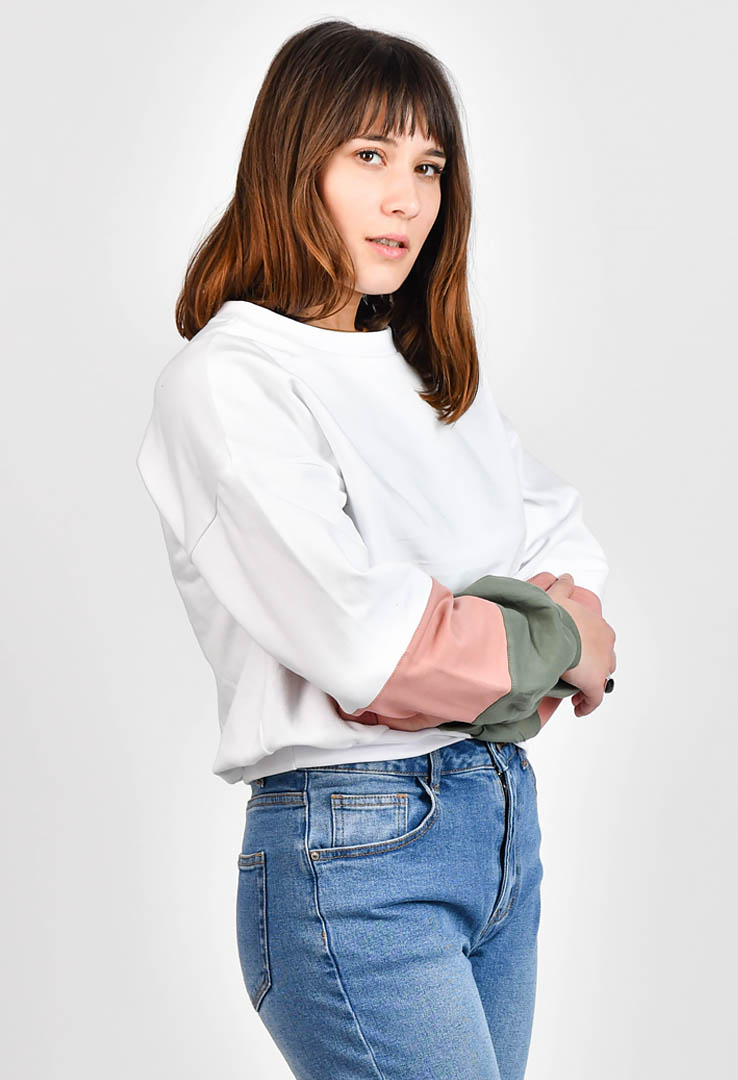 kurzes Sweatshirt – Bild 2