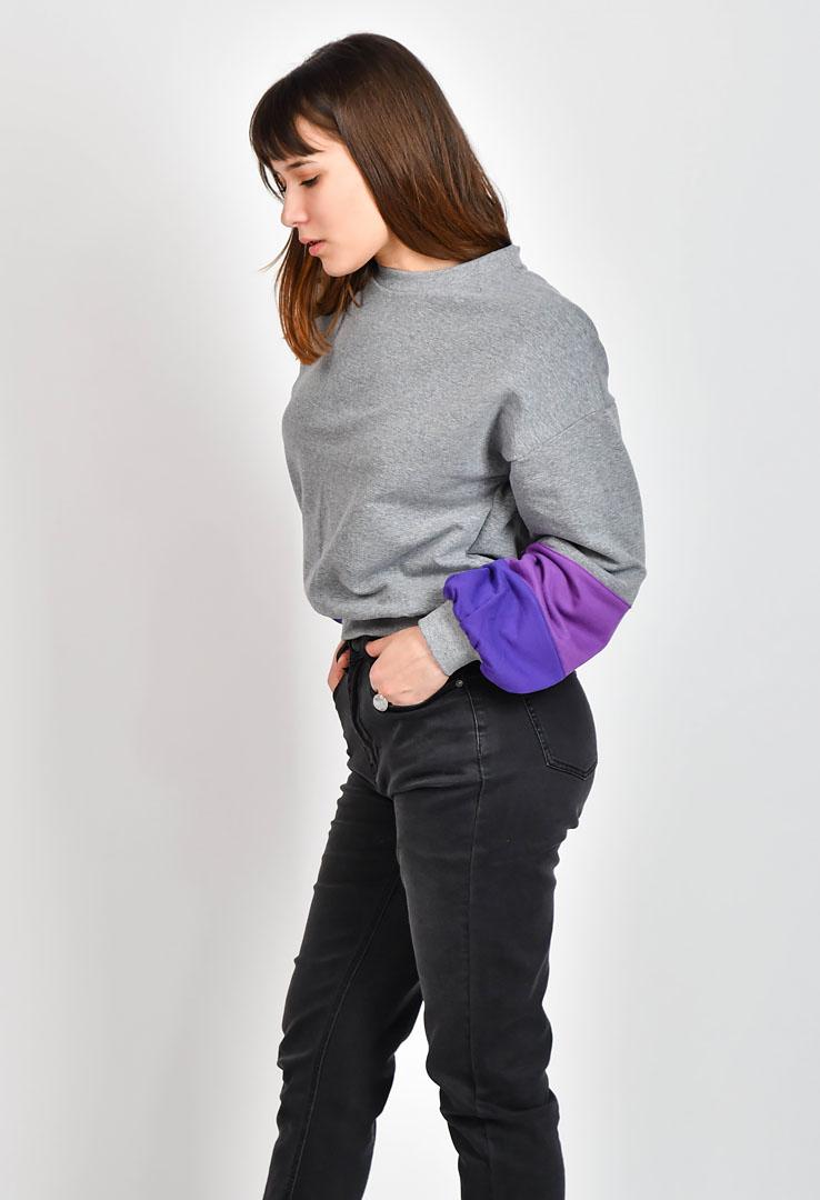 kurzes Sweatshirt – Bild 3