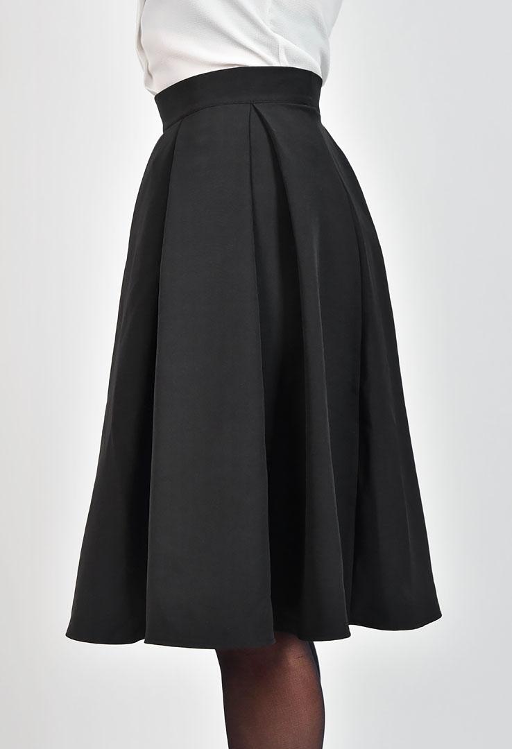 Taillenrock in schwarz  – Bild 3
