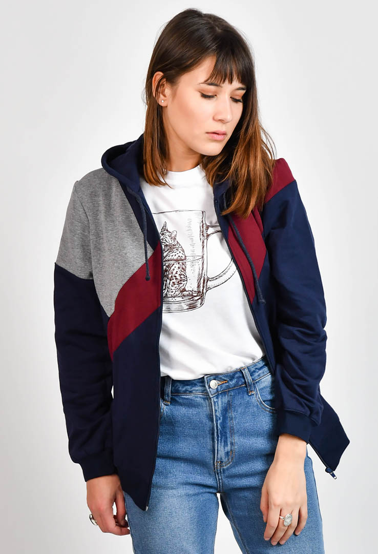 Sweatshirt Navy Blue – Bild 2