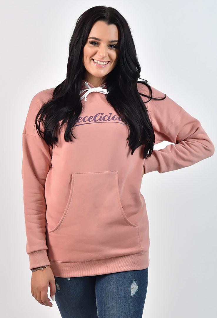 rosa Kapuzensweater – Bild 1