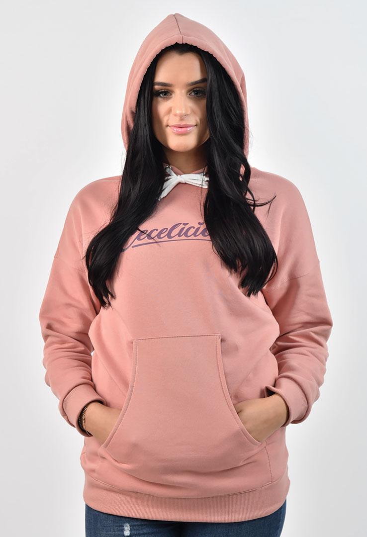 rosa Kapuzensweater – Bild 4