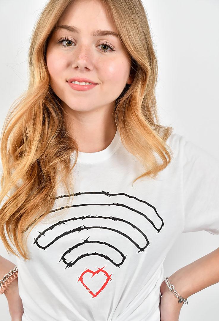 """Shirt """"WLAN Love"""""""