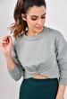 Sweater mit Knotendetails