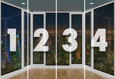 Papier Fototapete 3D-Panorama-Fensteransicht 368x254cm – Bild 4