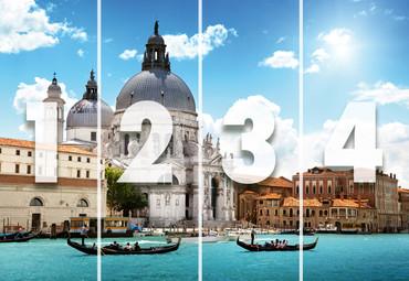 Papier Fototapete Santa Maria Venedig Italien 368x254cm – Bild 4