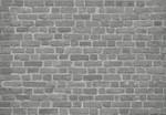 Papier Fototapete Backsteinmauer Schwarz 368x254cm 001